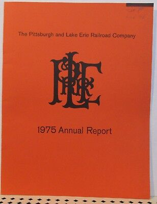 Pittsburgh & Lake Erie Railroad 1975 Annual Report