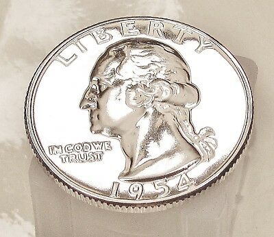 1954  Choice  Proof  Quarter  90%  SILVER  > Blazing  Luster <  #525  46
