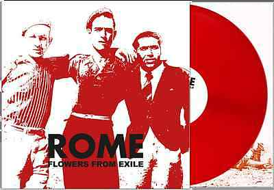 ROME - Flowers From Exile lim.RED LP RARE Death in June Ordo Rosarius Equilibrio