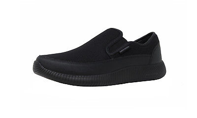440c653bcbd1c SKECHERS Depth Charge Flish Loafer Black Wide Casual Memory Foam Adult Men  Shoes