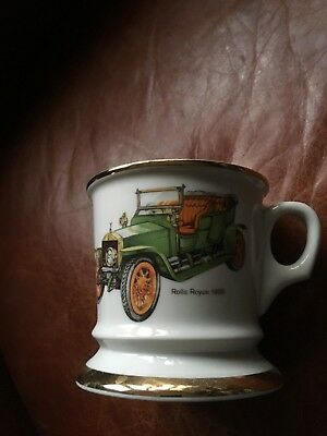 Rolls Royce Silver Ghost 1909 mug used but in mint condition