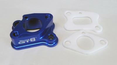 1/5 RC Carby Intake Manifold alloy Blue by GTB Walbro HPI Losi5 HSP PRC KM RV