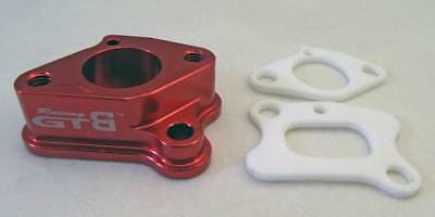 1/5 RC Carby Intake Manifold alloy RED by GTB  fit HPI Losi5 HSP PRC KM RV