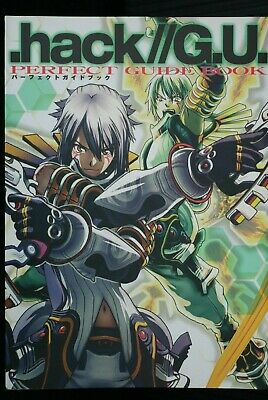 JAPAN .hack//G.U. Official Perfect Guide Book