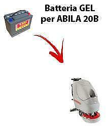 Battery for ABILA 20B scrubber dryer COMAC