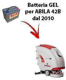 Battery for ABILA 42B scrubber dryer COMAC DAL 2010