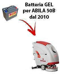 Battery for ABILA 50B scrubber dryer COMAC DAL 2010