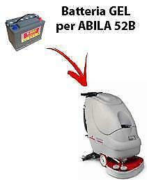 Battery for ABILA 52B scrubber dryer COMAC