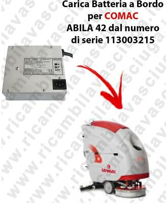 Onboard Battery Charger for scrubber dryer COMAC ABILA 42 from serial number 113