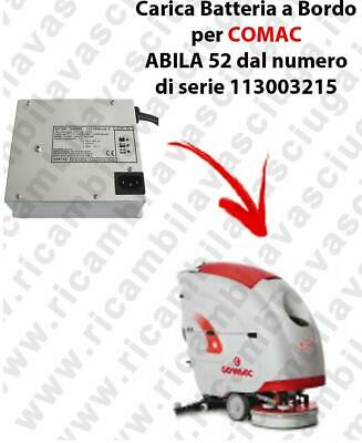 Onboard Battery Charger for scrubber dryer COMAC ABILA 52 from serial number 113