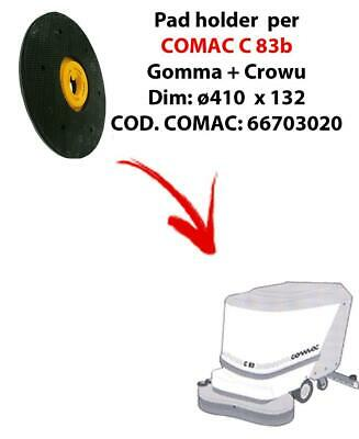 PAD HOLDER for scrubber dryer COMAC C 83. Code comac: 66703020