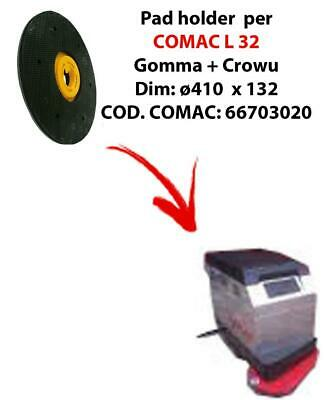 PAD HOLDER for scrubber dryer COMAC L 32. Code comac: 66703020