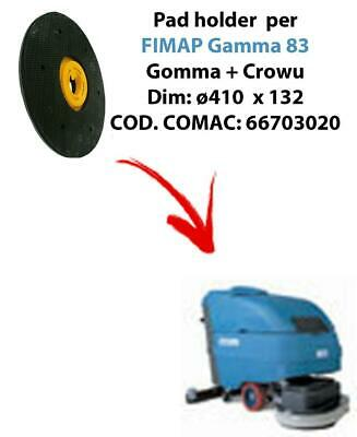 PAD HOLDER for scrubber dryer FIMAP Gamma 83 (old version). Code comac: 66703020