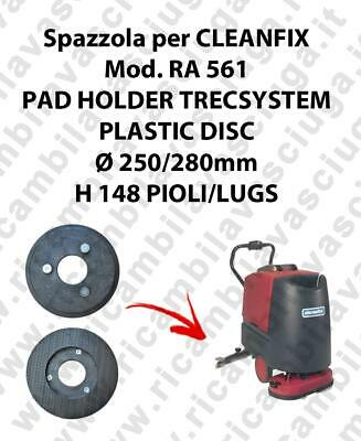 PAD HOLDER TRECSYSTEM  for scrubber dryer CLEANFIX Model RA 561