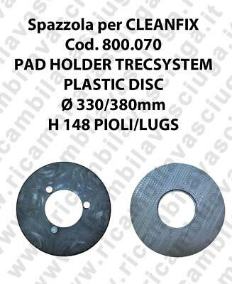 PAD HOLDER TRECSYSTEM  for scrubber dryer CLEANFIX Code 800.070