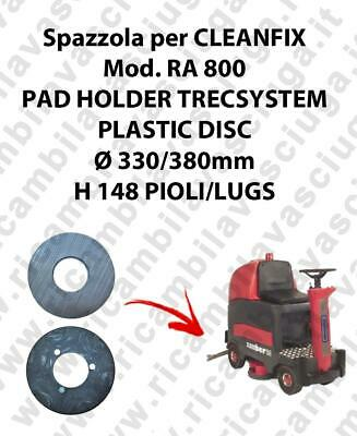 PAD HOLDER TRECSYSTEM  for scrubber dryer CLEANFIX Model RA 800