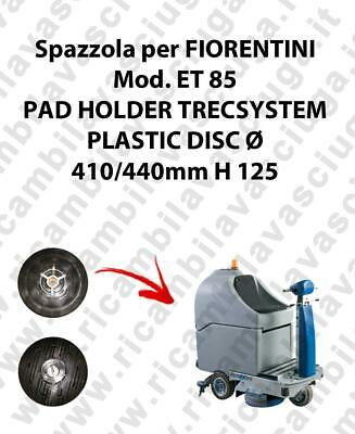 PAD HOLDER TRECSYSTEM  for scrubber dryer FIORENTINI Model ET 85