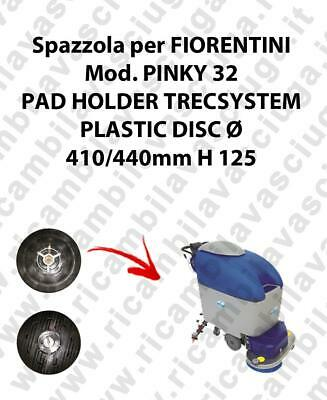 PAD HOLDER TRECSYSTEM  for scrubber dryer FIORENTINI Model PINKY 32