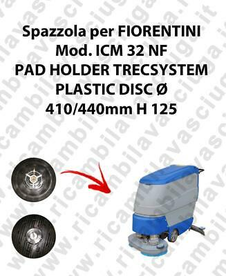 PAD HOLDER TRECSYSTEM  for scrubber dryer FIORENTINI Model ICM 32 NF