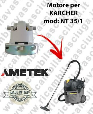 NT 35/1  VACUUM MOTOR AMETEK for vacuum cleaner KARCHER