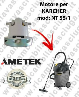 NT 55/1  VACUUM MOTOR AMETEK for vacuum cleaner KARCHER