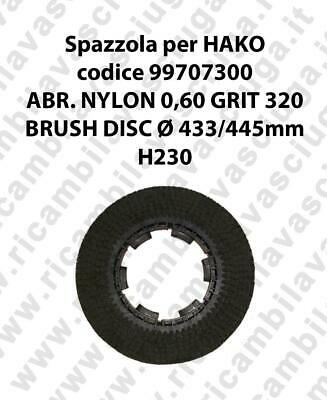 Cleaning Brush for scrubber dryer HAKO Code 99707300