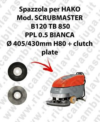Cleaning Brush for scrubber dryer HAKO Model SCRUBMASTER B120 TB 850