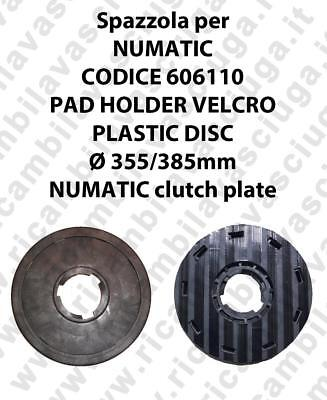 PAD HOLDER VELCRO for scrubber dryer NUMATIC Code 606110