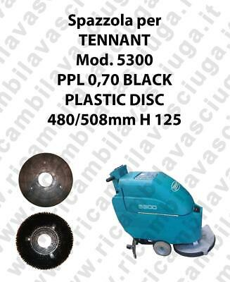 Cleaning Brush PPL 0,70 BLACK for scrubber dryer TENNANT Model 5300