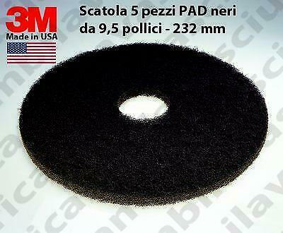 3M PAD, 5 peaces/box , Black color from 9.5 inch - 232 mm