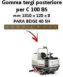 C 100 BS  Back Squeegee rubber Comac
