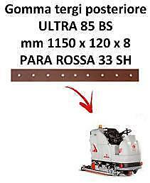 ULTRA 85 BS  Back Squeegee rubber Comac