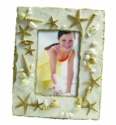 Tropical Sandy Shores Beach Sea Shells Picture Frame 917