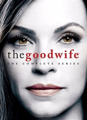 THE GOOD WIFE THE COMPLETE SERIES New Sealed 42 DVD Set Seasons 1 2 3 4 5 6 7