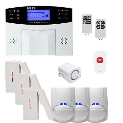 Wireless GSM/WiFi Autodial Sms Home House Office Small Package Security System