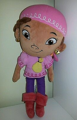 Disney Store Izzy Jake and the Neverland Pirates Plush Soft Doll Girl