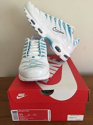 Nike Air Max Plus Tn Blue Fury Icey Blue 11 Us Brand New