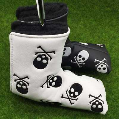 Golf Putter Headcovers Men Synthetic Leather Head Cover Blade Taylormade Ping