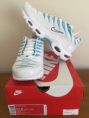 Nike Air Max Plus Tn Blue Fury 11.5 Us Brand New