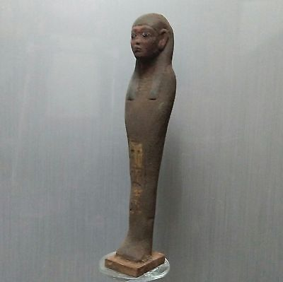 ANCIENT EGYPTIAN EGYPT great stone ushabti statue (300-1500 BC)