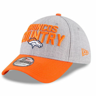 sneakers for cheap 9c75a aac95 Denver Broncos New Era Youth 2018 NFL Draft Official On-Stage 39THIRTY Flex  Hat