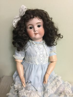 Antique Doll Hamburger & Co German Bisque On A Comp Body 23""