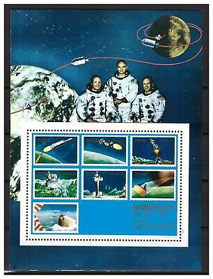 s22818) SOMALIA MNH** Nuovi** 1970 Space  s/s never officially issued