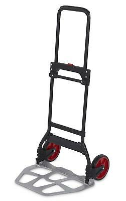 Telescopic Hand Truck Foldable Transport Box Stacking Cart up to 120 kg