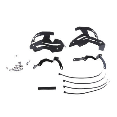 1 Pair Motorcycle Metal Valve Protector Guard Covers for BMW R1200R LC Black