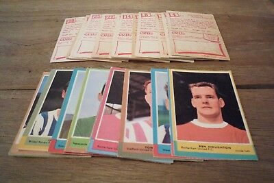 A&BC Red Back Football Cards 1st Series - 1964 VGC! - Pick The Cards You Need!