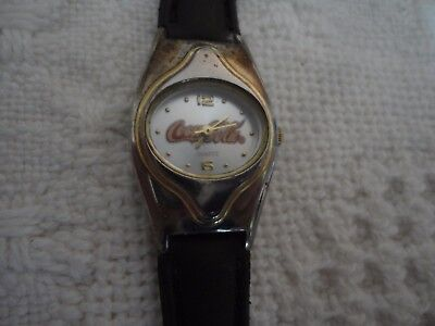 Womens 2003 Coca-Cola Wrist Watch, Japan Movement, #55284 Needs a Battery EC
