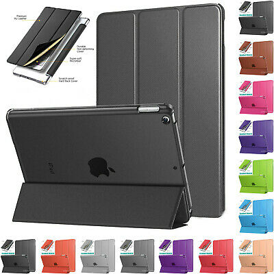 """Smart Cover Case Magnetic Leather Stand For iPad 2/3/4 9.7"""" 2018 Air 2 mini Lot"""