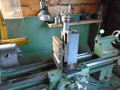 Boxford Lathe Vertical Slide with Milling Table and Vice