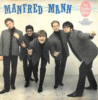 MANFRED MANN the singles plus (greatest hits/best of) (CD album) CDP 7 46603 2